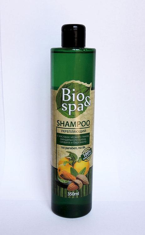Bio&Spa  Шампунь для волос укрепляющий (масло черного тмина, масло миндального о
