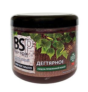 BIO&SPA Мягкое мыло для тела и волос Дегтярное