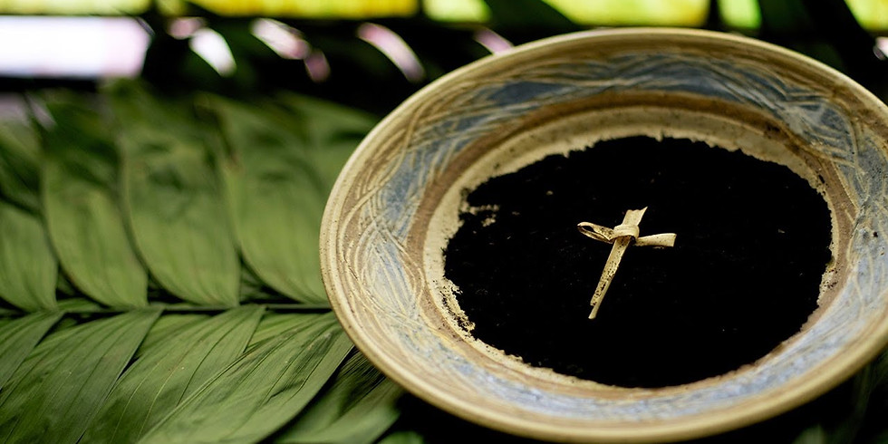 Ash Wednesday Mass & Distribution of Ashes