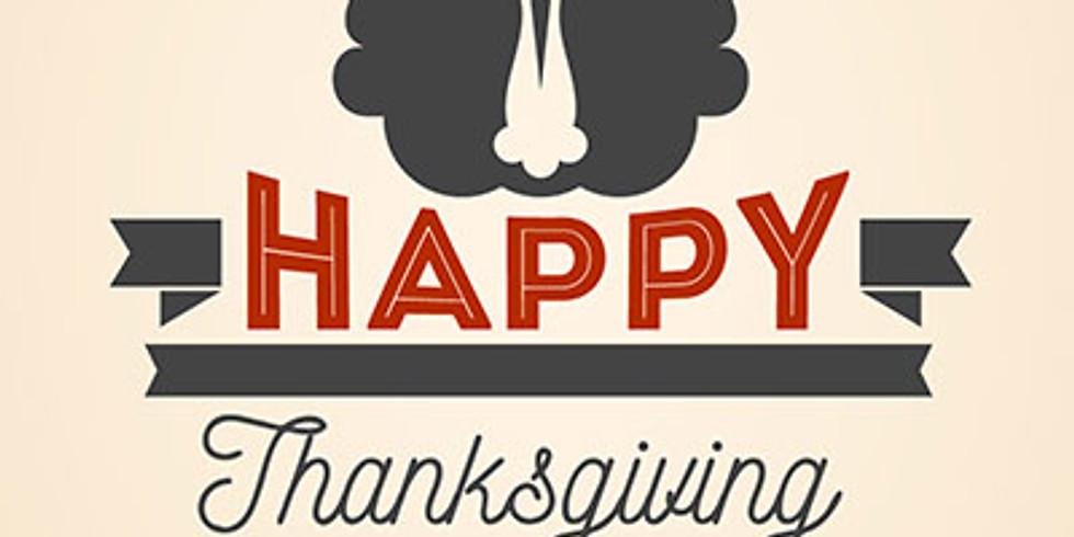 Thanksgiving Potlock Dinner