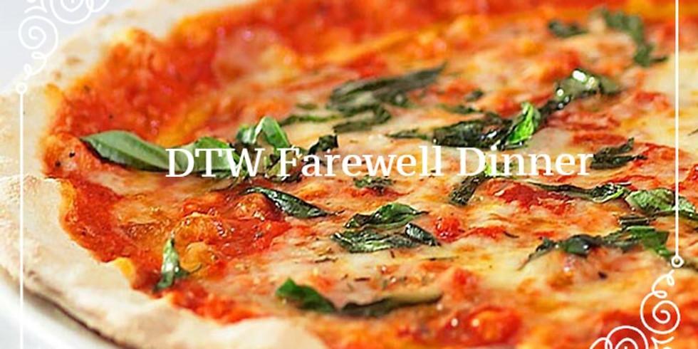 DTW Farewell Dinner