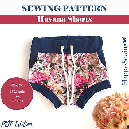 Havana Shorts - Sewing Pattern