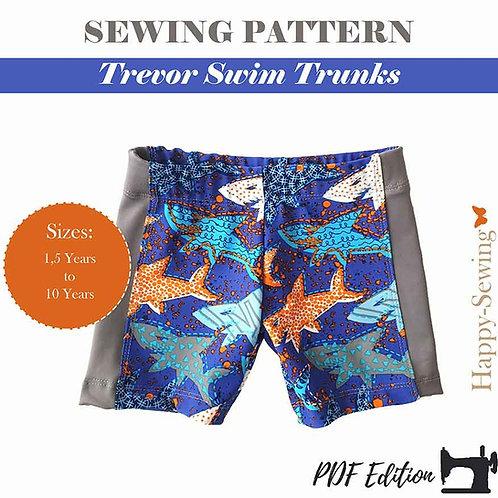 Trevor Swim Trunks - Sewing Pattern