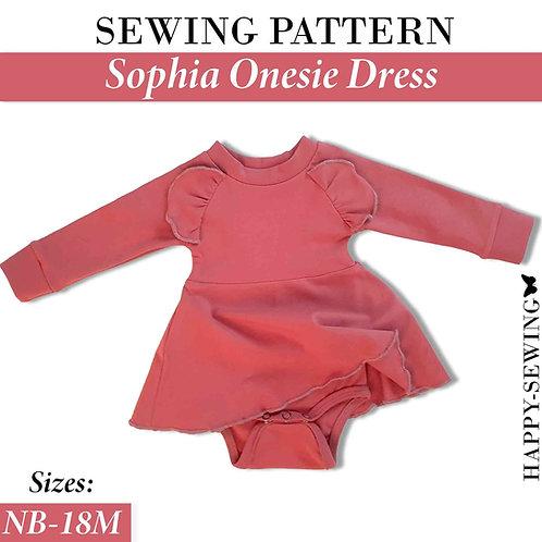 Sophia Onesie Dress - Sewing Pattern