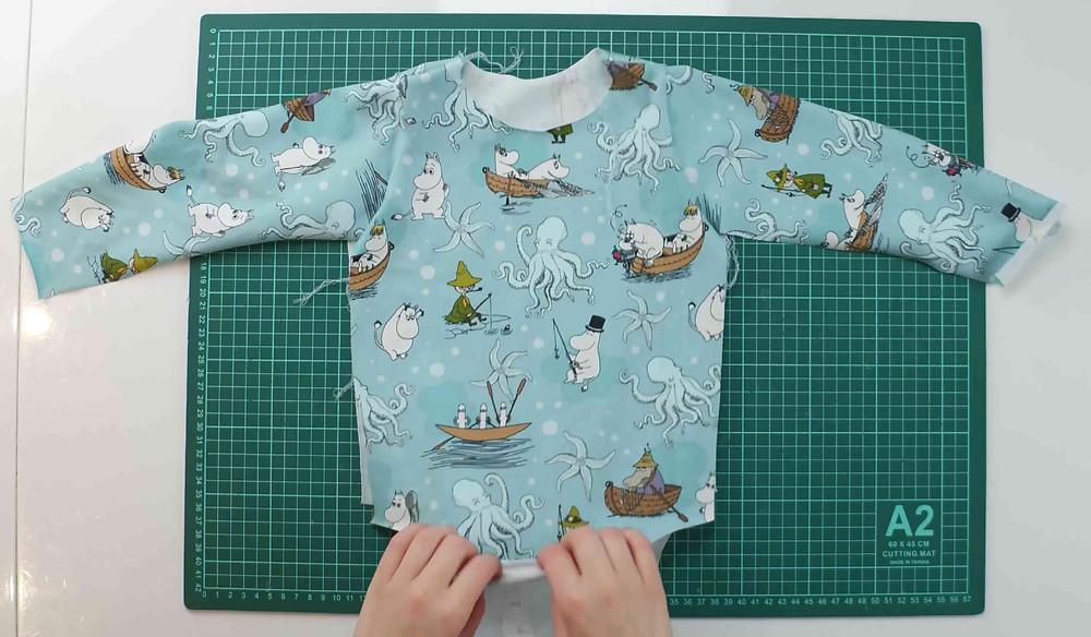 sewing a onesie