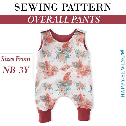 Overall Pants - Sewing Pattern