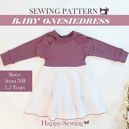 Sophia - Baby Onesiedress - Sewing Pattern