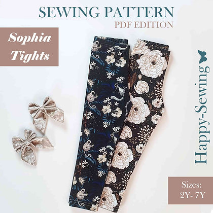 Sophia - Tights for kids - Sewing Pattern