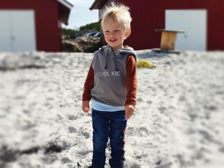 How to Sew a hoodie Vest for kids