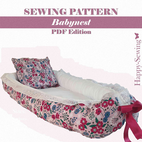 Baby Nest - Sewing Pattern