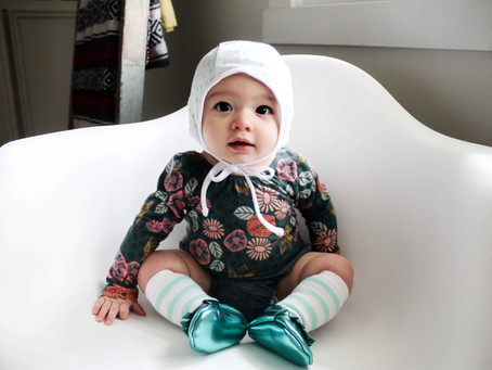How to sew a Baby Bonnet