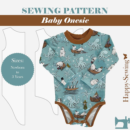 Free baby Onesie Pattern