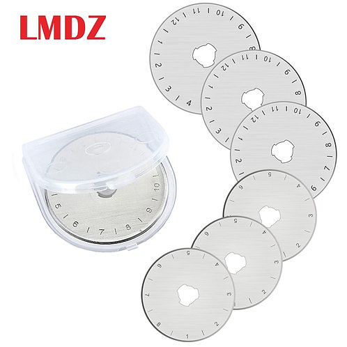 LMDZ Rotary Cutter Blades x5 - 28mm and 45mm