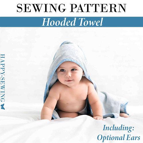 Hooded Towel - Sewing Pattern