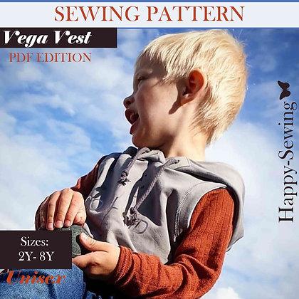 Vega Vest - Sewing Pattern
