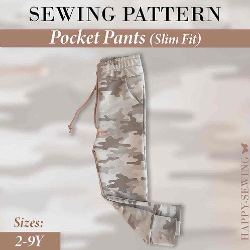 Pocket Pants - Sewing Pattern