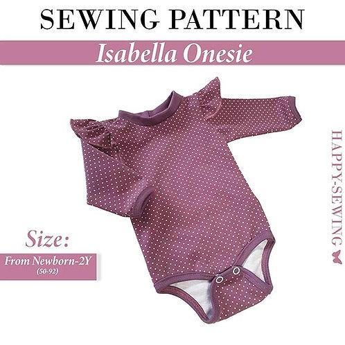 Isabella Onesie - Sewing Pattern