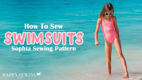 How to Sew Swimsuits Tutorial   Guided Tutorial