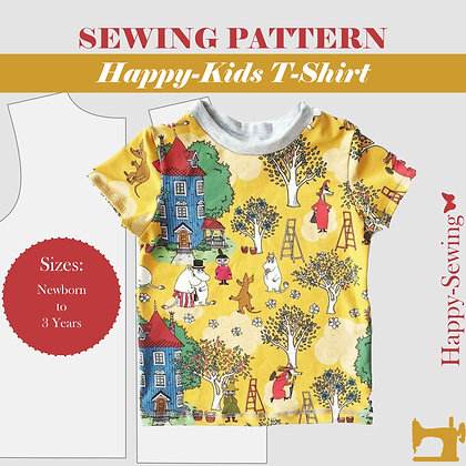 T-Shirt for Kids - Sewing Pattern