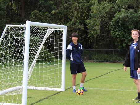 Brisbane Strikers U18 곽종현 선수입니다.