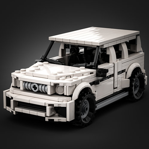 Inspired by Mercedes G63 AMG (instructions)