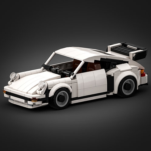 Inspired by Porsche 930 Turbo - White (instructions)