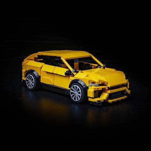 Inspired by Lamborghini Urus - Yellow (Set)