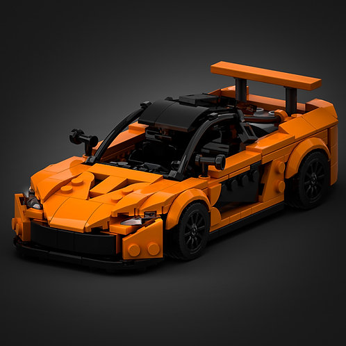 Inspired by Mclaren P1 - Orange (instructions)