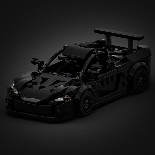 Inspired by Mclaren P1 - Black (instructions)