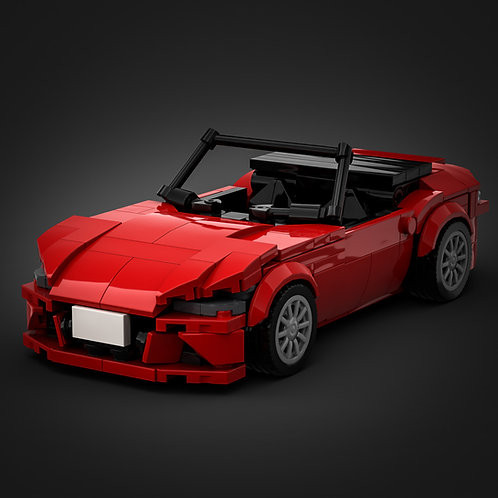 Inspired by Mazda MX-5 - Red (instructions)