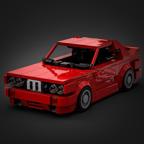 Inspired by BMW E30 M3 - Red  (instructions)