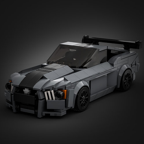 Inspired by Ford Mustang Shelby GT500 - Grey (instructions)