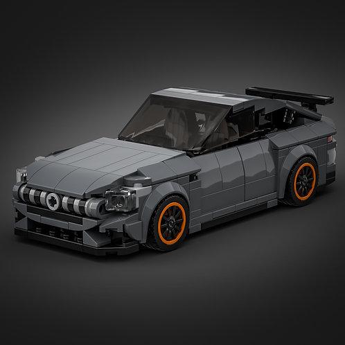 Inspired by Mercedes AMG GT 4-door - Dark Grey (instructions)