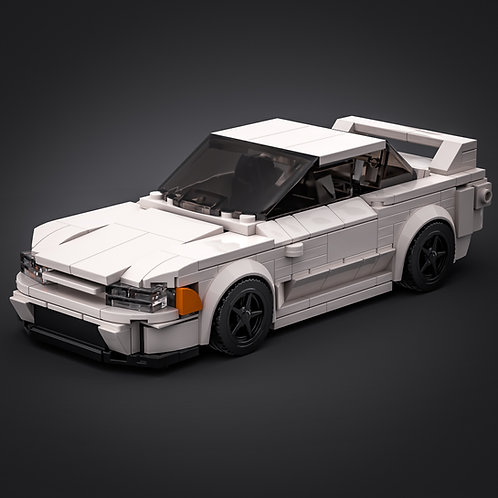 Inspired by Nissan Skyline R32 - White (instructions)