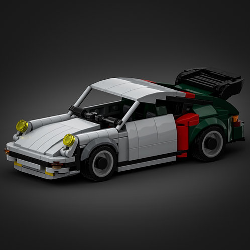 Inspired by Porsche 930 Turbo - Cyberpunk 2077 (instructions)