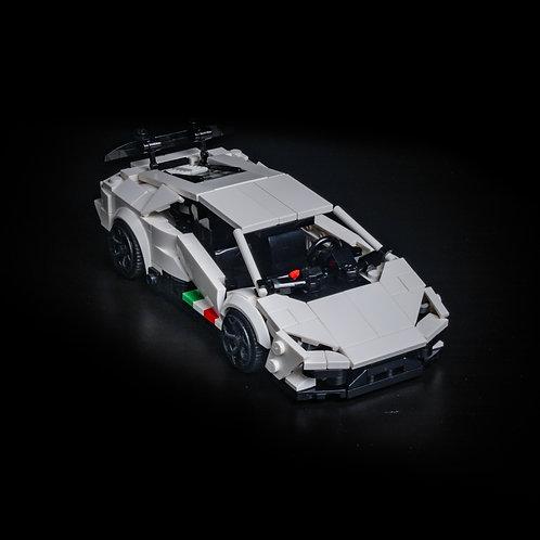 Inspired by Lamborghini Huracan Performante - White (Set)