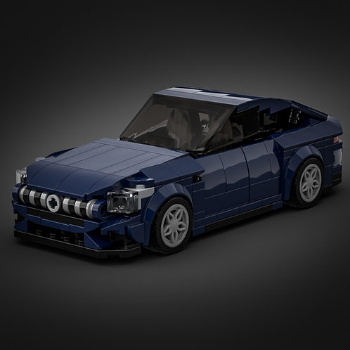 Inspired by Mercedes AMG GT 4-door - Dark Blue (instructions)