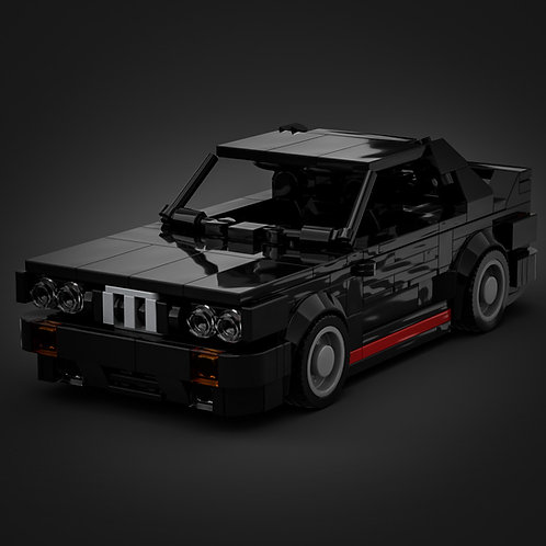 Inspired by BMW E30 M3 - Black  (instructions)