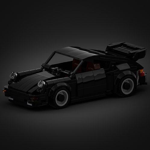 Inspired by Porsche 930 Turbo - Black (instructions)