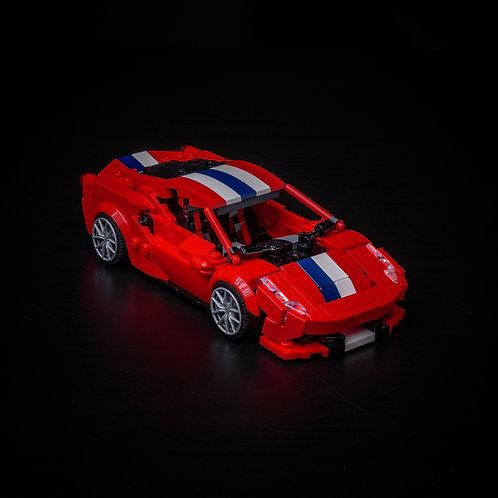 Inspired by Ferrari 488 Pista - Red (Set)