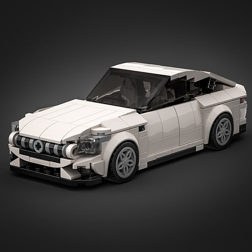 Inspired by Mercedes AMG GT 4-door - White (instructions)