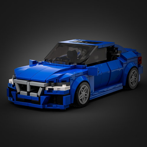 Inspired by BMW 3 Series - Blue (instructions)