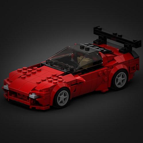 Inspired by Mazda RX7 (based on set 76895 Ferrari F8 Tributo)