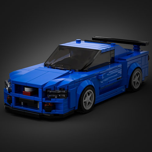 Inspired by Nissan Skyline R34 GTR (instructions)