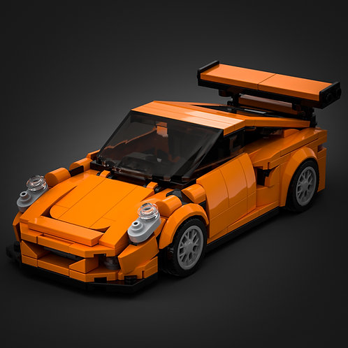 Inspired by Porsche 911 GT3 RS (instructions)