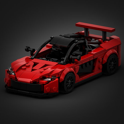 Inspired by Mclaren P1 - Red (instructions)