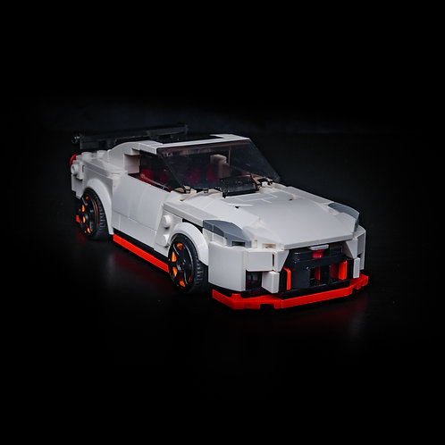 Inspired by Nissan GTR Nismo - White (Set)