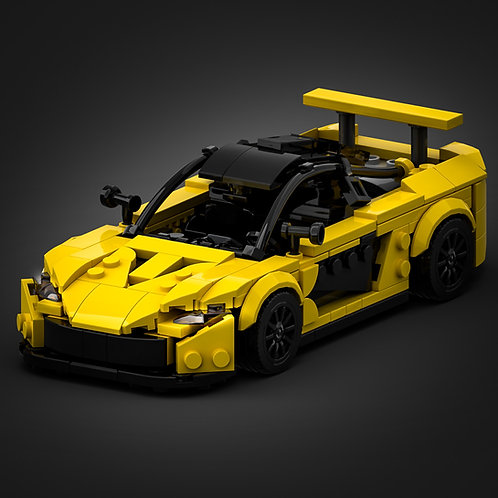 Inspired by Mclaren P1 - Yellow (instructions)