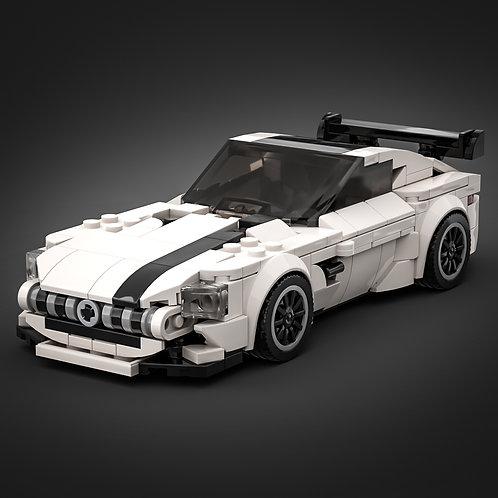 Inspired by Mercedes AMG GTR - White