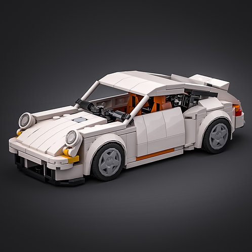 Inspired by Porsche 964 - White (instructions)